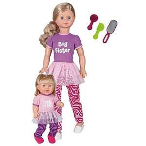 Big Sister and Little Sister Dolls were £50 now only £15 online @  Asda. Free click and collect.