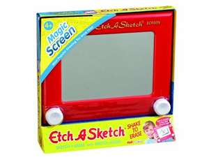 Classic Etch a Sketch £7.50 @ Amazon (Free delivery over £10/Prime)