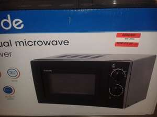 17L black microwave £15 instore Byker  @ Asda