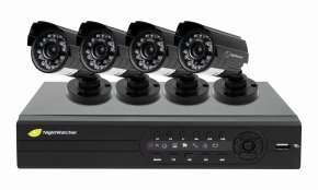 Nightwatcher DIY 1TB 8 Channel Full D1 4 Camera 700TVL CCTV Kit £189.99 Free Delivery @ Ebuyer