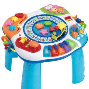 Kiddicare - buzzing brains activity table £14.99 was £29.99 plus £2.99 delivery.