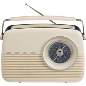 Bush Cream Retro DAB Radio - £39.99 @ Argos (save £30)