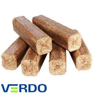 6 Verdo Heat logs (10kg) @ Home Bargains £2.79