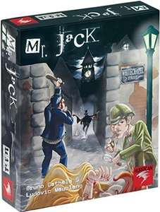 Mr.Jack (Board Game) by Bruno Cathala £18.01 @ Amazon