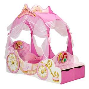 smyths toystore Disney Princess Carriage Toddler Bed Now £149.99 add code Oct12 makes it £137.99