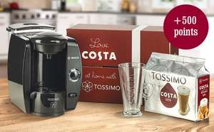 Bosch Tassimo T40 Costa £40.00 + £5 p&p with code from Costa Coffee