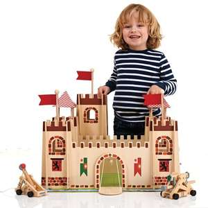 Wooden Castle £35.00 (Knights or Princess), figures from £1.50 @ wilkinson