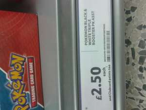 Pokemon Triple Booster Packs £2.50 and X&Y Tins £3.25 each @ Tesco Instore