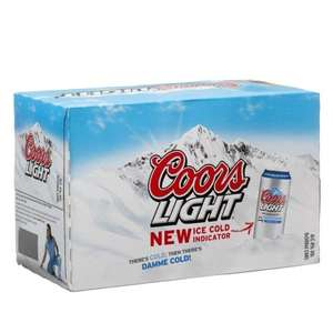 Coors Light 8 x 500ml cans for £4.99 at B&M - Limited in store availability