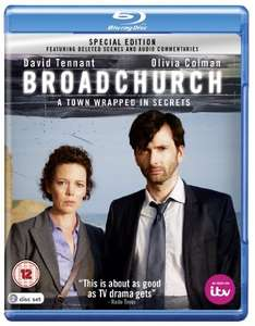 Broadchurch (Special Edition) [Blu-ray] - £11 @ Amazon