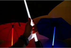 Betron Light Saber LED Umbrella with Torch £12.95 Sold by Betron Limited ( VAT Registered) and Fulfilled by Amazon.