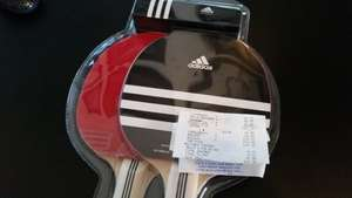 Adidas Table Tennis Bat and Ball Set £4 @ Tesco extra Southend