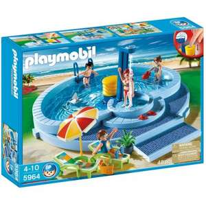 Playmobil Swimming Pool reduced to £19.99 @ Smyths (C&C Only)