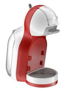 NESCAFÉ Dolce Gusto Coffee Machine Mini Me - Automatic Play & Select by De'Longhi - Red and White. £49.99 from Amazon and free delivery.
