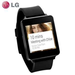 LG G Watch for Android Smartphones - Black (Online retailer: Mobile Fun) £99.99 DELIVERED