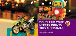 Nectar Double Up Promotion Turn £20 worth of points into £40 at Sainsbury's