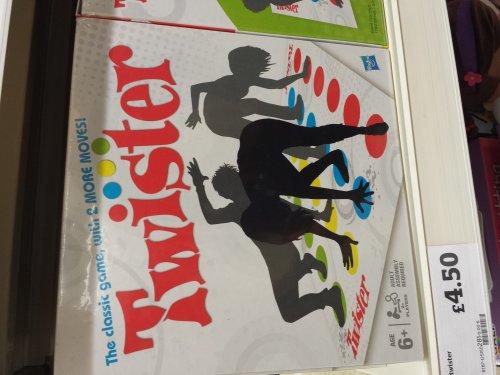 Twister Hasbro Orginal game only £4.50 Sainsburys