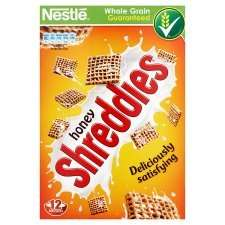 Honey Shreddies 500g - Half Price - £1.24 at Tesco.