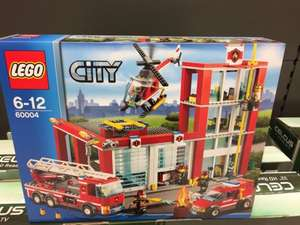 Lego City fire station 60004, 1/2 price £35 @ Sainsburys