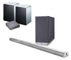 LG MUSIC FLOW HS6, R1 & H3 x 2 for £599.95 at Richer Sounds