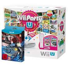 Wii U Basic with Nintendo Land, Wii Party U, Bayonetta 1 & 2, plus Wii Remote £179.86 @ ShopTo