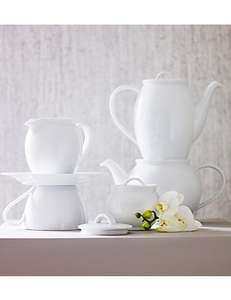 £3.99 Was £19.50 M&S Maxim Coffee Pot in White @ M&S free collect from store