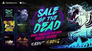 Halloween Deals on PSN
