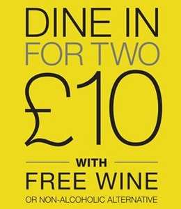 Its that time again. M&S Dine in for 2 with wine for £10  (22-28 Oct) @ Marks & Spencer