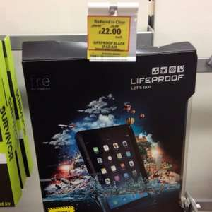 iPad air case life proof tesco £22 from £100