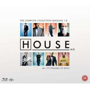 House M.D. - The Complete Collection Blu-ray @ Zavvi with code £54.99