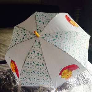Lovely weather for ducks!!!! Umbrella £2.99 @ Home Bargains