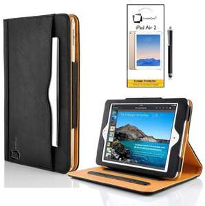 Basic iPad Air 2 Folio Case Pre Order with Screen Protector Shield Guard & Apple iPad Air 2 Stylus - £0.99p Delivered @ Amazon / Sunny Savers Ltd