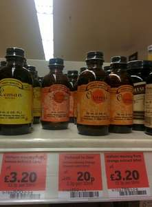 Nielsen massey orange blossom water 20p @ Sainsbury's