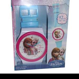 Frozen wall watch clock £7.99 @ Discount UK instore