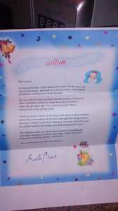 free letter from santa to print at home