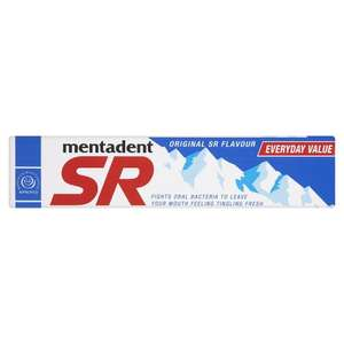 Mentadent SR Toothpaste Original 100ml Now only 80p @ Wilkos