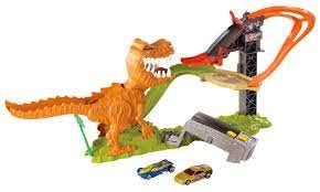 hot wheels t rex set including 18 hot wheels cars £22.50 instore at sainsburys