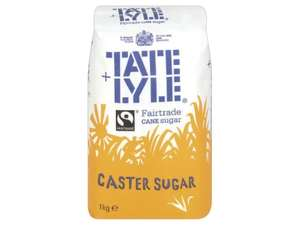 1Kg TATE & LYLE Fairtrade Caster Sugar £0.79 @ Lidl