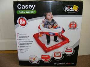 Kiddu Casey Red Baby Walker £10  @ Tesco Instore