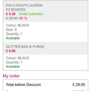 2 pairs of Ralph Lauren boxers + free gift + free delivery ............basically £15 Off £20 Spend Free Delivery & Free Gift Using Code @ La Redoute