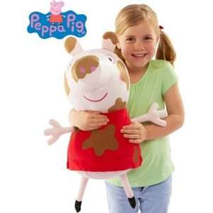 Peppa Pig Muddy Puddles Large 22 Inch Plush Soft Toy £7.49 (Half Price) @ Argos
