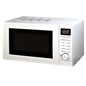 Dunelm Mill.White Digital Microwave.£19.99 Click/Collect.