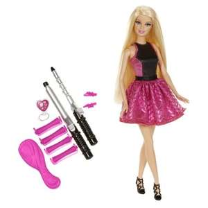 Barbie Endless Curls Doll  £12.49 @ Argos