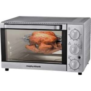 Half Price Morphy Richards MG25BHF Rotisserie Mini Oven - St/Steel.  Half Price at Argos £ 49.99