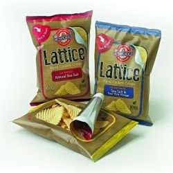18 x 40g bags of Seabrooks Lattice crisps (various flavours) for £10.66 delivered from Seabrooks (59p each)