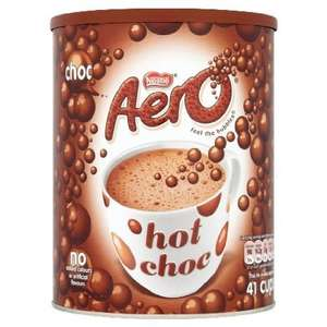 Nestle aero Hot Chocolate 1kg £3.89 - 2kg £7.80 @ Amazon