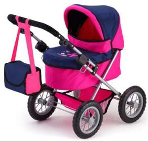 Bayer design doll pram trendy pink £19.19 delivered from Amazon