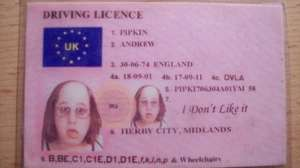 Provisional driving licence cut from £50 to £34. 10 year renewal cut from £20 to £14