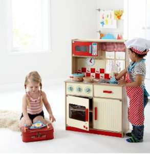 George Home Deluxe Wooden Kitchen BACK IN STOCK £40 @ Asda