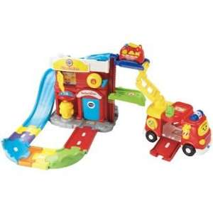 VTech Toot-Toot Drivers Fire Station Deluxe - £24.99 - Argos